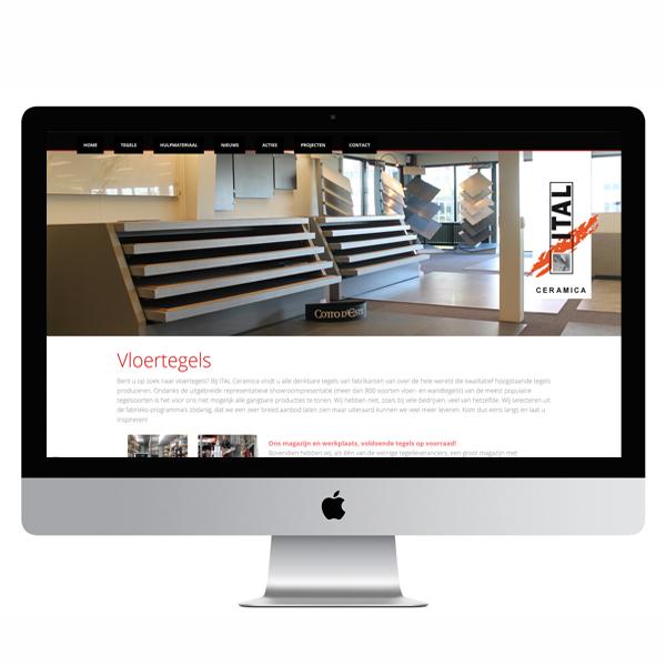 Ital ceramica website